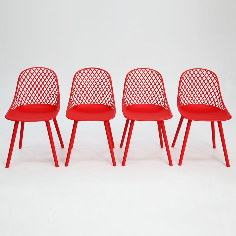 Persia Chair Red x4
