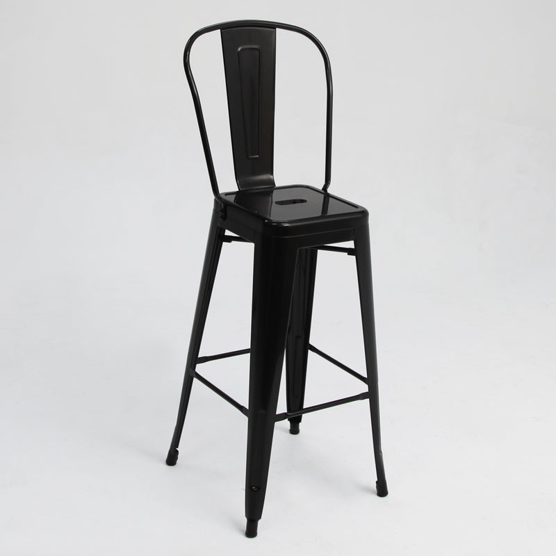 Tolix Bar Chair Black