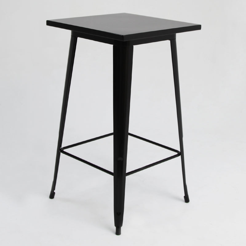 Tolix Bar Table Black