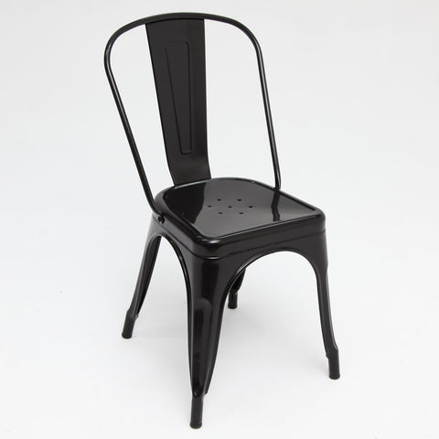 Replica Tolix Chair Black Gloss set of 4