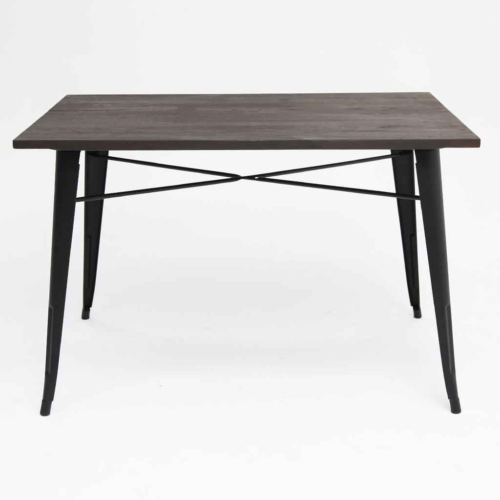 Replica Tolix Elm Table Double Black