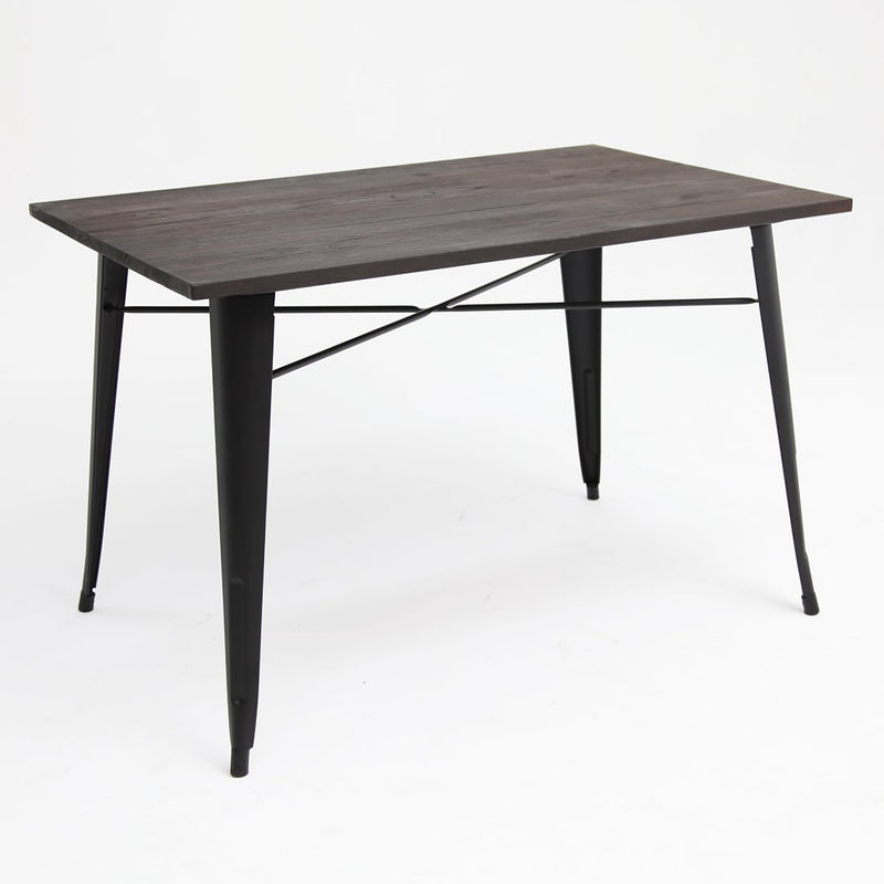 Tolix Elm Double Table Black