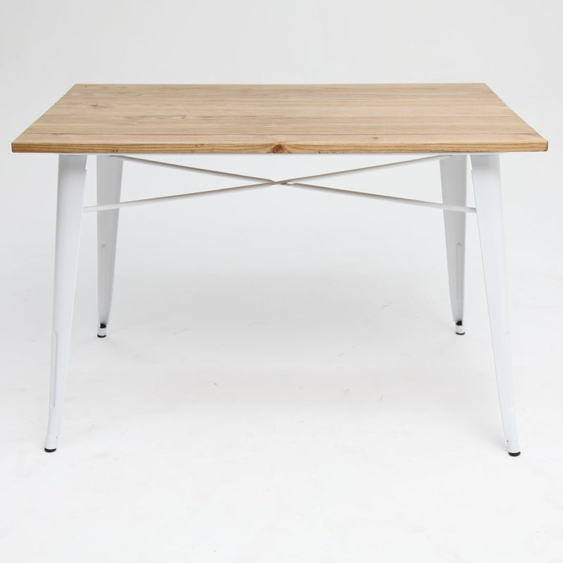 Tolix Elm Double Table White