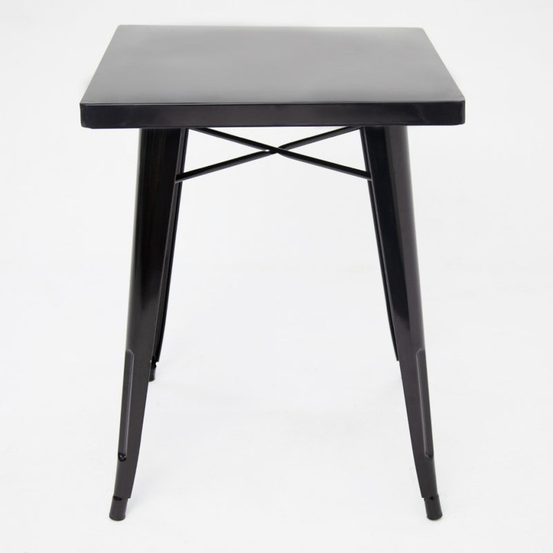Tolix Table Black Gloss