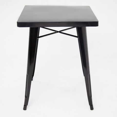 Tolix Cafe Table Black Gloss
