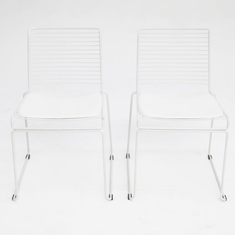 Toorak Chair White x2
