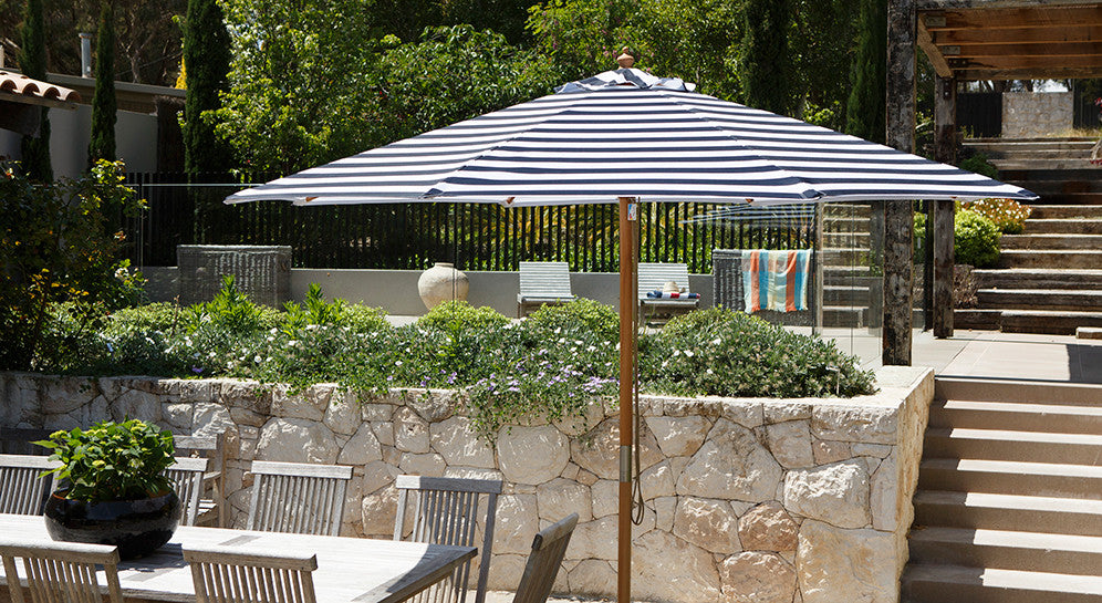 Billy Fresh Outdoor Entertainment Umbrella St Tropez Blue