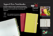 Load image into Gallery viewer, Appeel Apple-Leather Notebook with Eco-Pen
