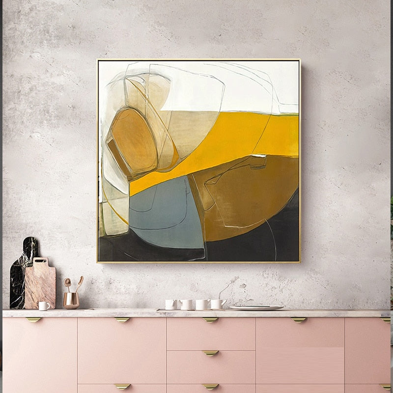 Abstract Painting AF-056 - Art-Factory