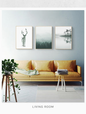 Nordic Painting AF-074 - Art-Factory