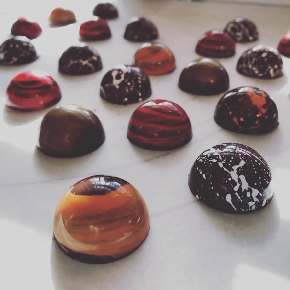Hand-painted Bonbons - made cleveland