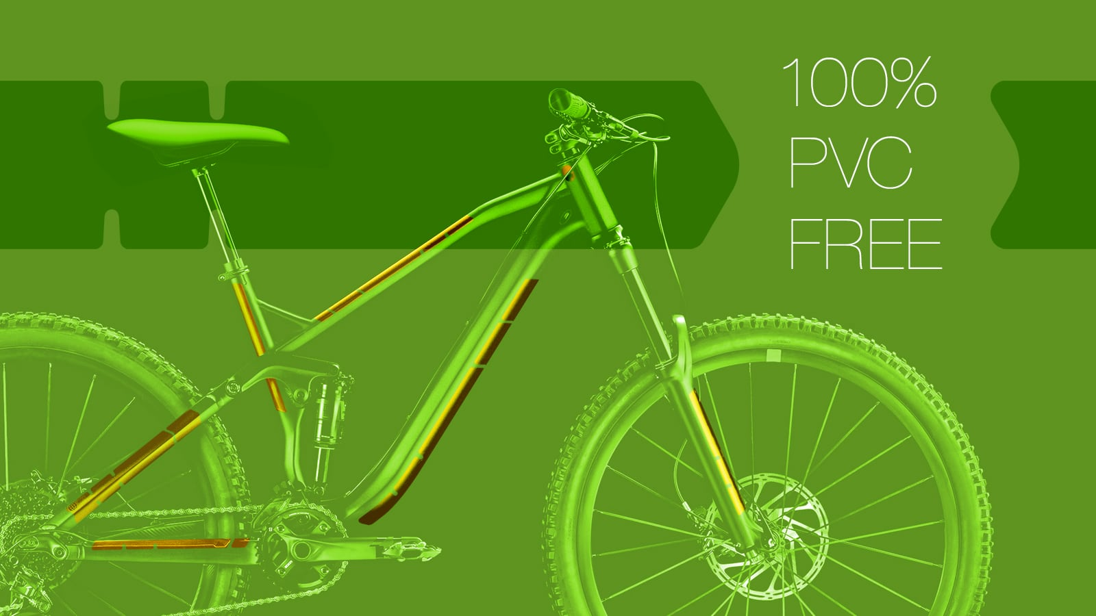 DRIVT.BIKE bike frame protection - 100% PVC-free