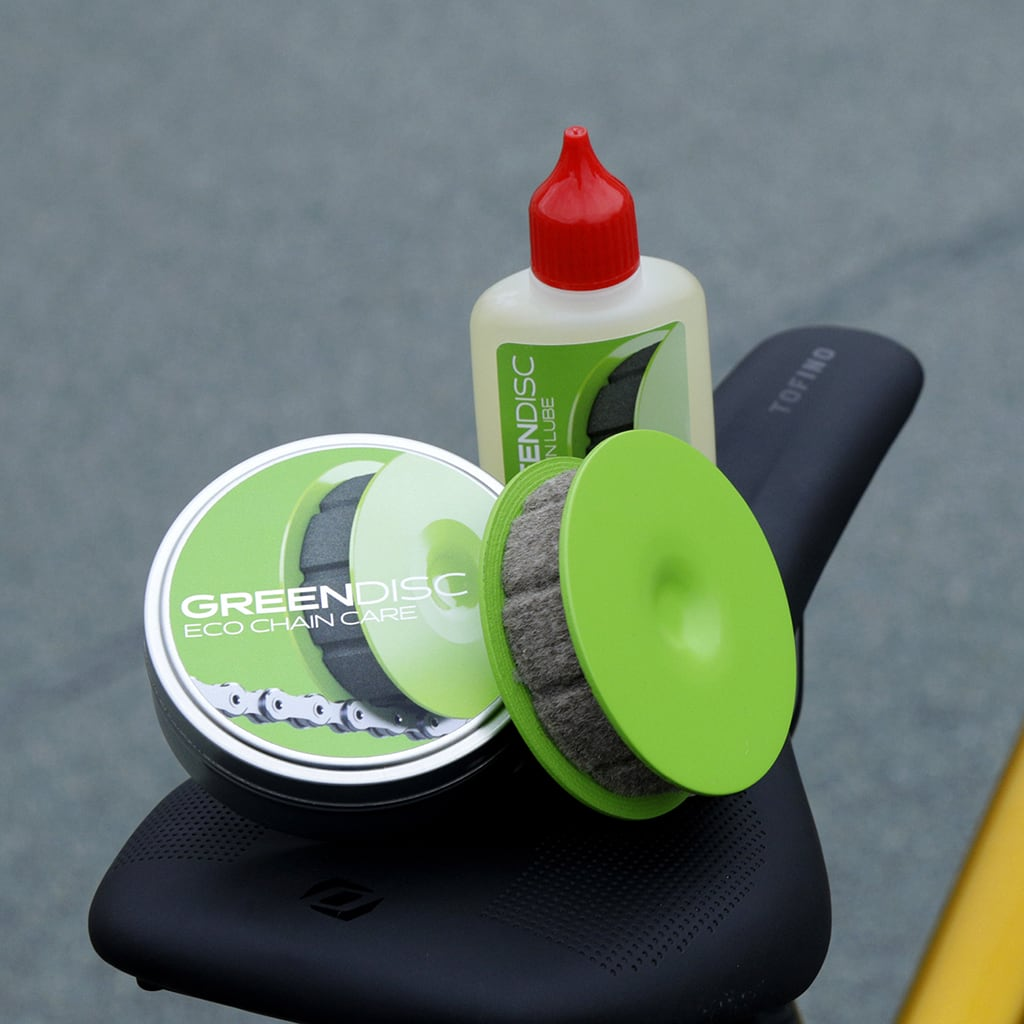 GREEN DISC and DRIVT BIO CHAIN LUBE - the best solution for your bike chain