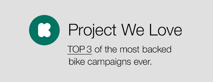 DRIVT.BIKE´s GREEN DISC is one of Kickstarter´s most backed bike campaigns ever.