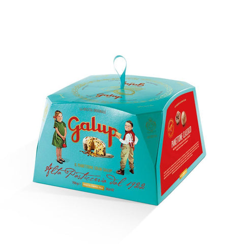 Panettone Gran Galup Tradizionale Turquoise Edition