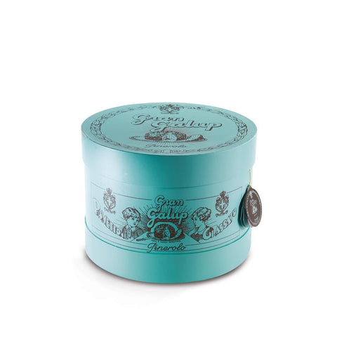 Panettone Gran Galup Tradizionale Turquoise Edition Cappelliera