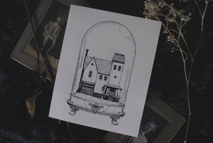 Beetlejuice: Houses of Horror | Art Print
