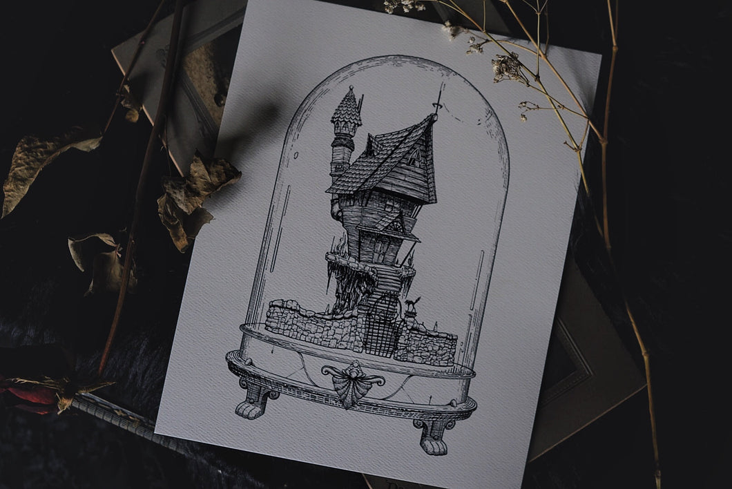 Jack's House: Houses of Horror | Art Print