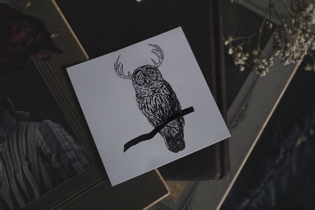 Nocturnal Temporary Tattoo