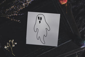 Ghostie Temporary Tattoo