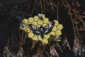 Insects of Horror Enamel Pin