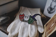 Load image into Gallery viewer, Trick or Treaters Enamel Pin