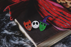 Trick or Treaters Enamel Pin