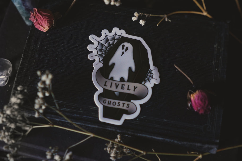 Ghostie Tattoo Style Sticker