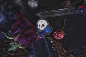 Memento Mori Jewel Pin
