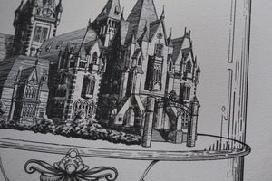 Allerdale Hall: Houses of Horror | Art Print