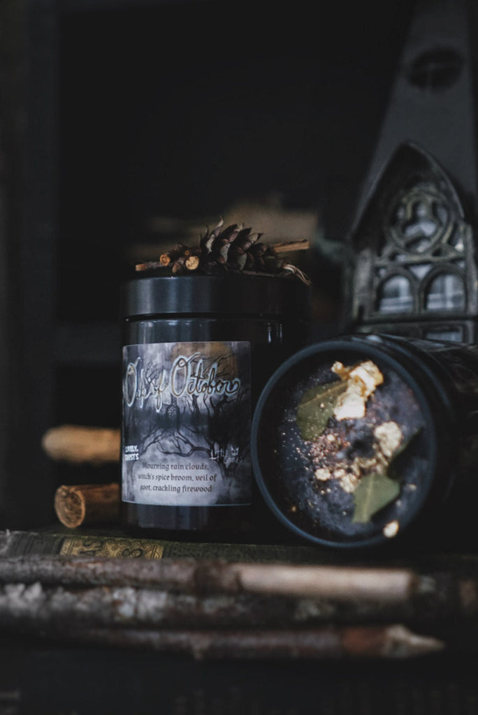 Oak of October Candle