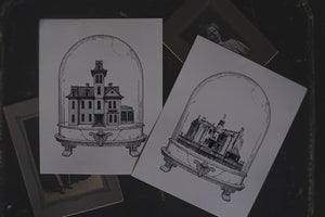 Florida's Haunted Mansion: Houses of Horror | Art Print
