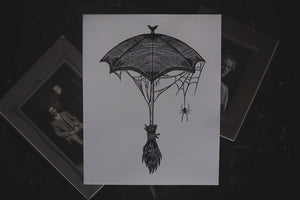 Salem's Shadow Art Print
