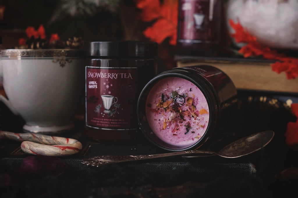 Snowberry Tea Candle