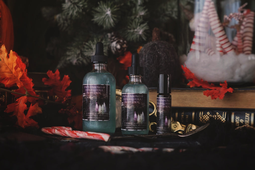 Spirits Summoned By Silver Bells For A Snowy Stroll Bath & Body Shimmer Oil