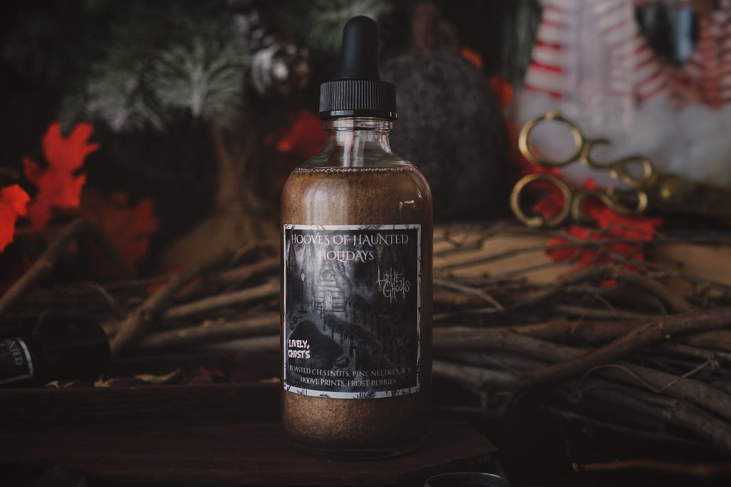Hooves of Haunted Holidays Bath & Body Shimmer Oil