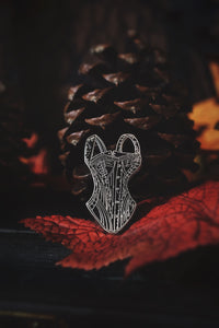 The Lady Lucille Corset Pin