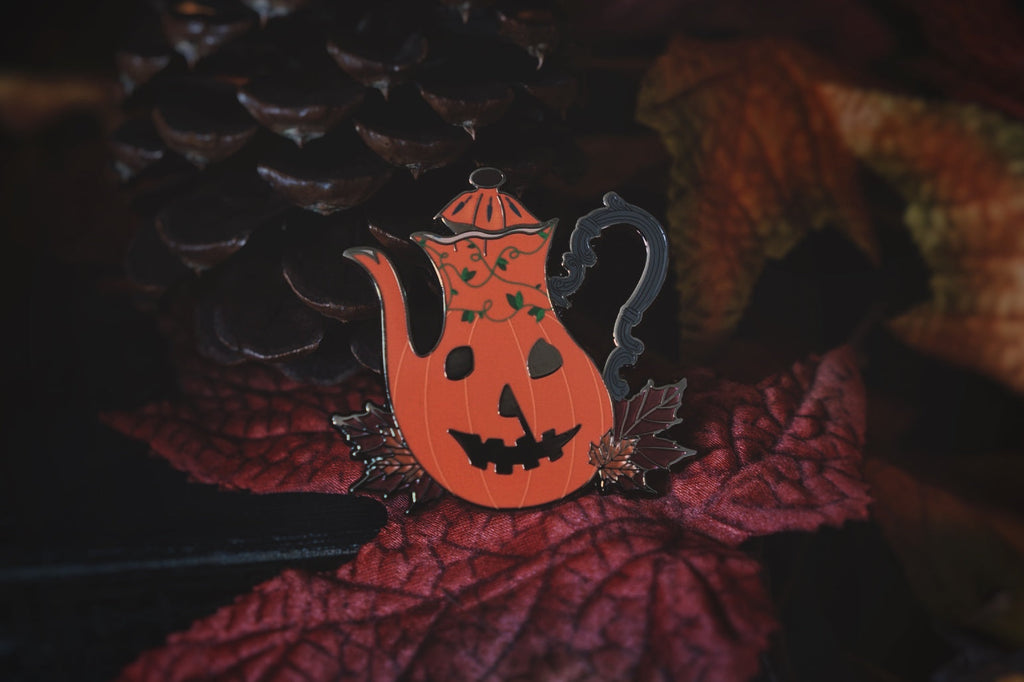 A Haunting in Haddonfield Enamel Pin