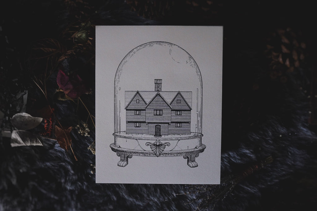 Salem Witch House: Houses of Horror | Art Print