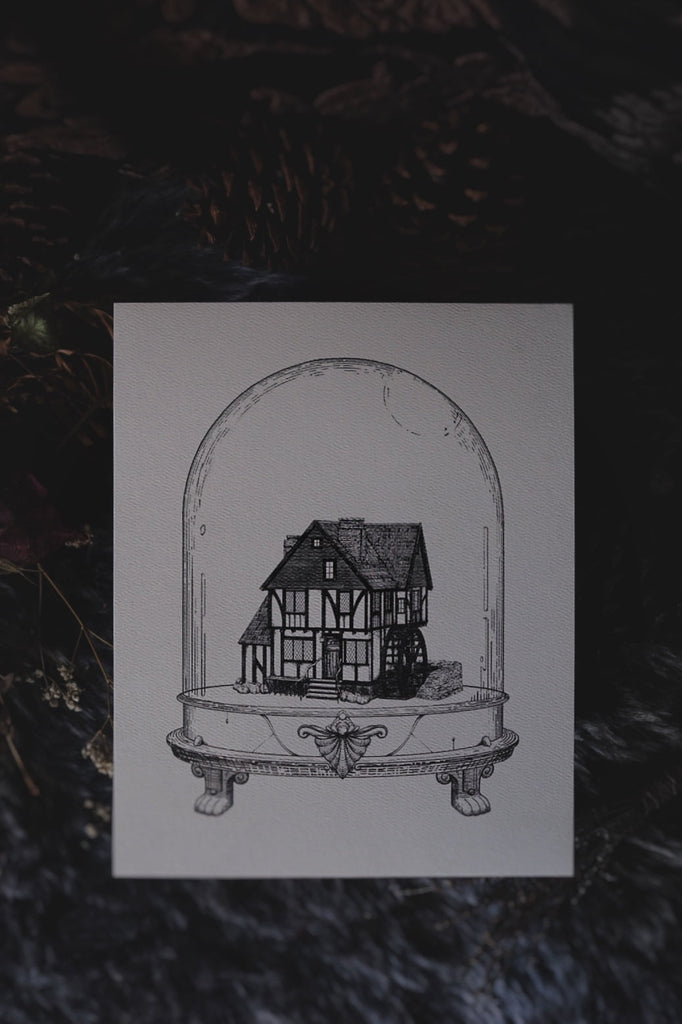 Sanderson Sisters' Cottage: Houses of Horror | Art Print