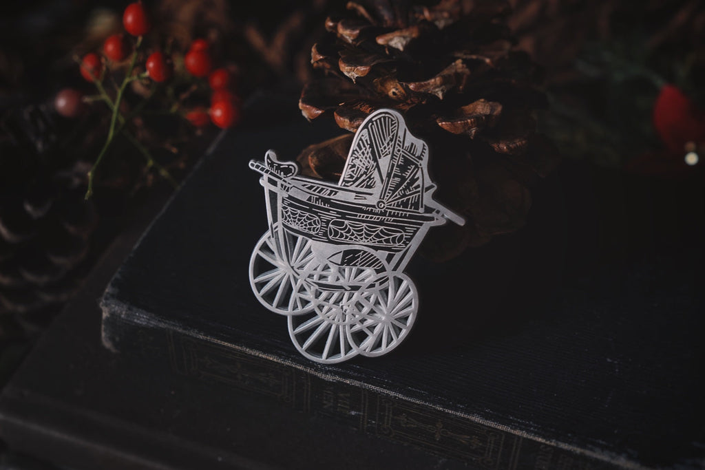 Dark Carriage Pin