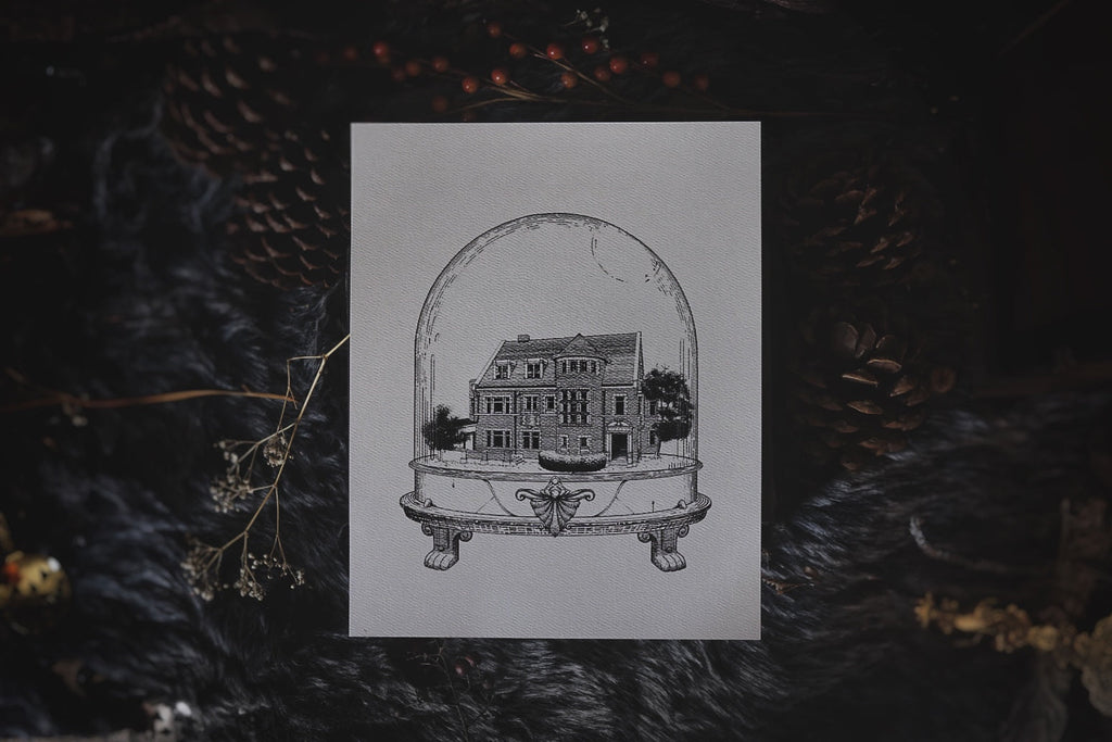 American Horror Story Murder House: Houses of Horror | Art Print