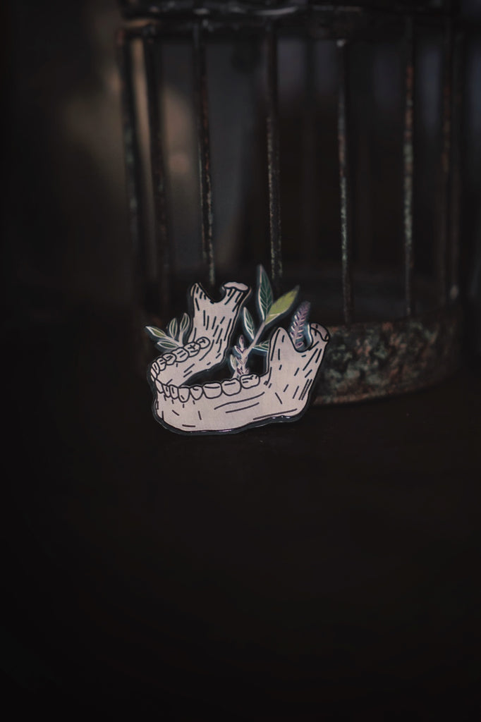 Wilted Enamel Pin