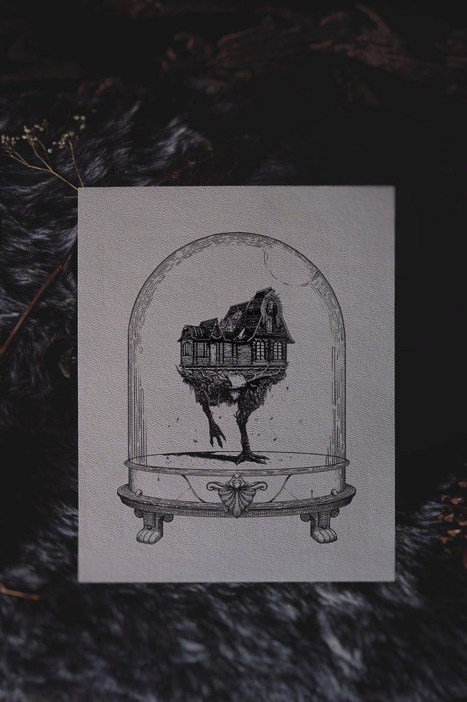 Baba Yaga: Houses of Horror | Art Print