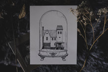 Load image into Gallery viewer, Beetlejuice: Houses of Horror | Art Print