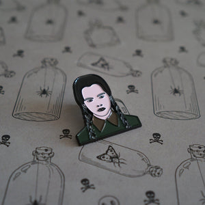 Wednesday Addams Enamel Pin