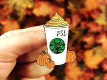Load image into Gallery viewer, Pumpkin Spice Latte - Starbucks PSL Enamel Pin