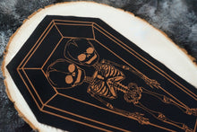 Load image into Gallery viewer, Skeleton Twins Coffin Patch