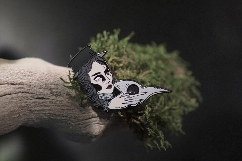 Plague Doctor Pin