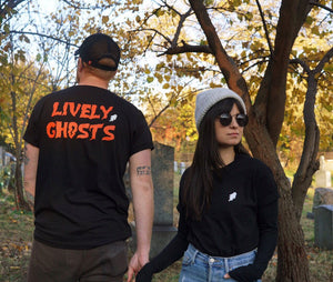 "Lively Ghosts ""Ghostie"" Unisex Logo Tee"